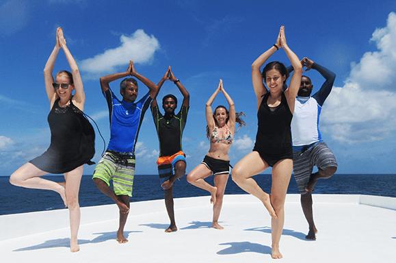 חופשת יוגה באיים המלדיביים