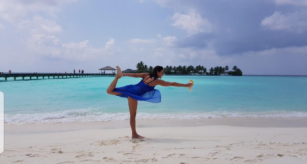 חופשת יוגה וסדנה של ניסים אמון באיים המלדיביים