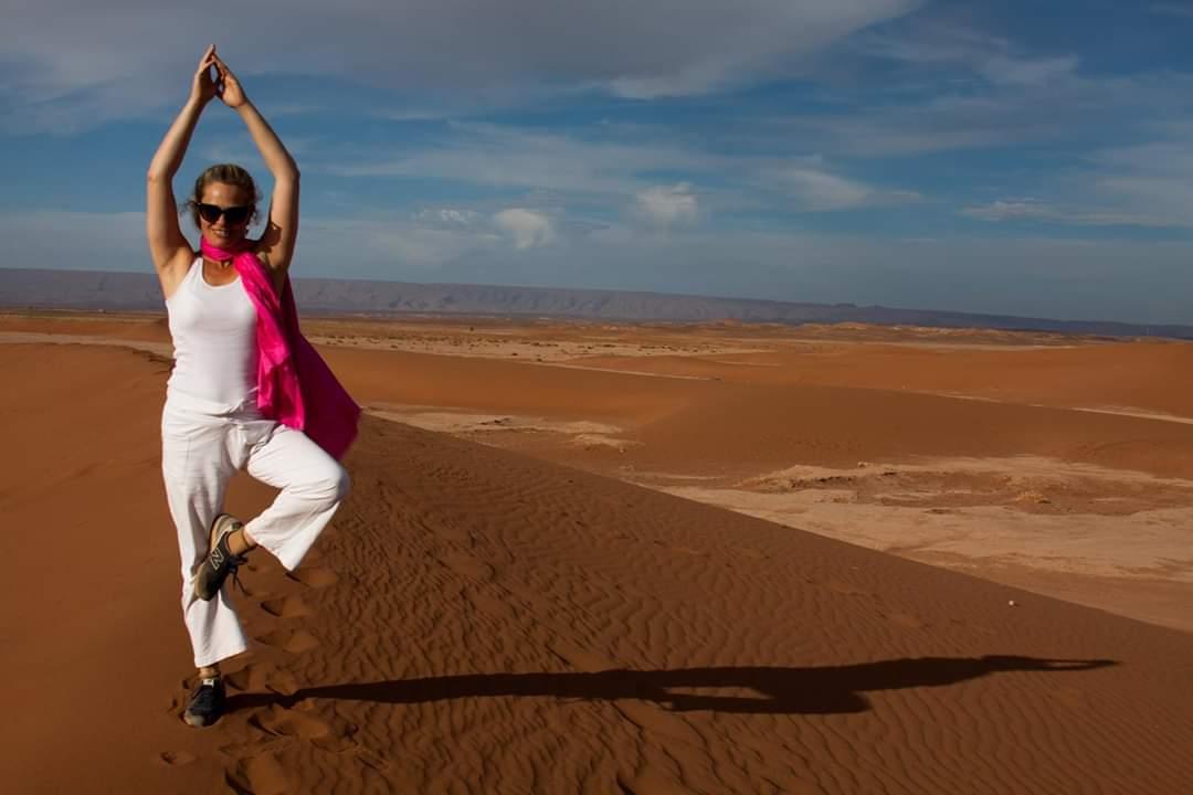 טיול יוגה במרוקו