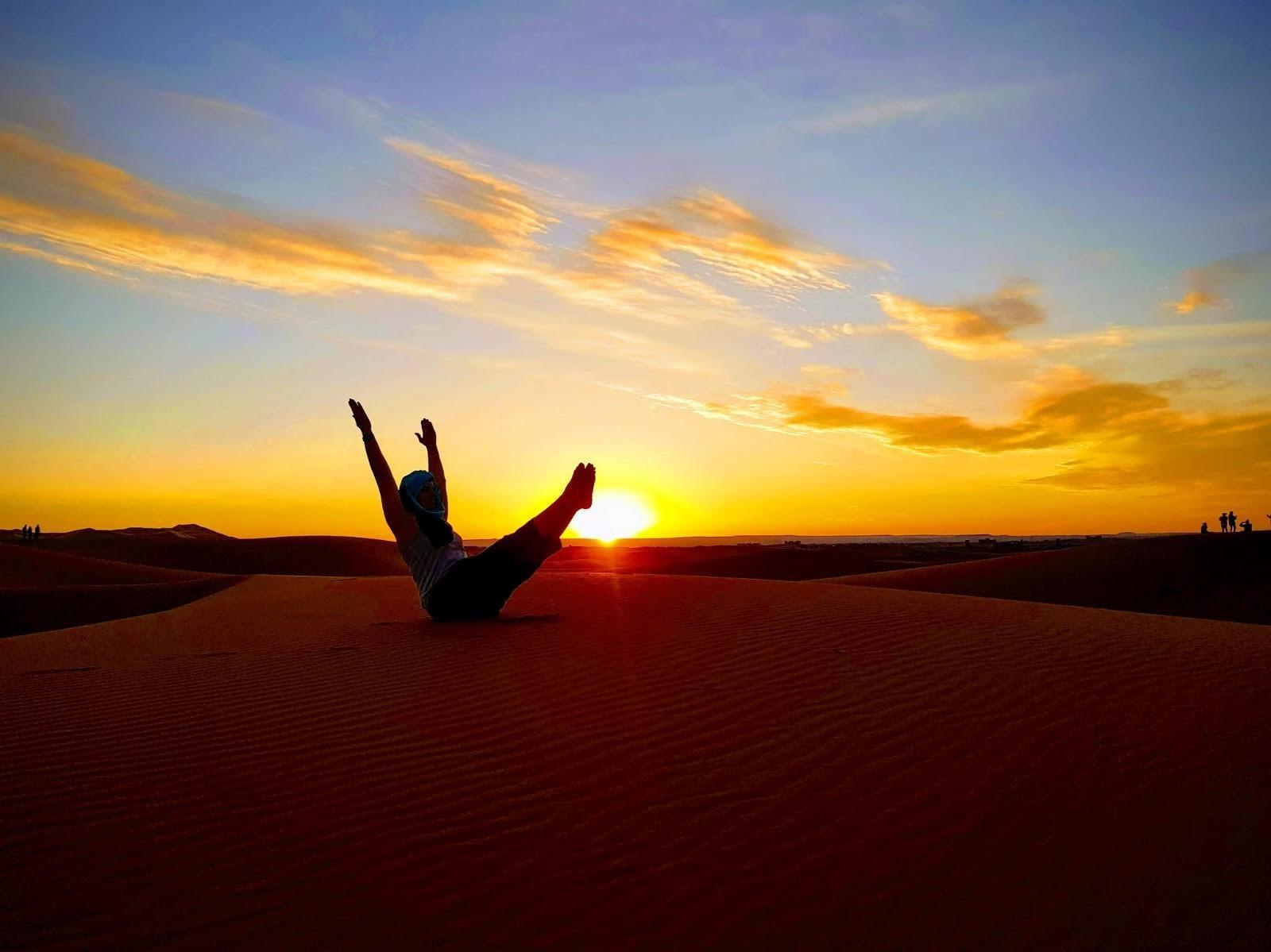 טיול יוגה במרוקו מבית יוגה טרוולס